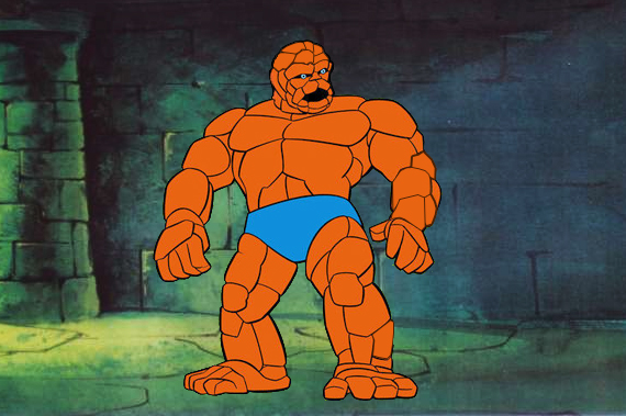 A Coisa Fred And Barney Meet The Thing 1979 Infantv